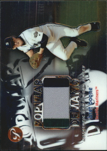 Photo of 2002 Topps Pristine Popular Demand #BB Bret Boone Jsy