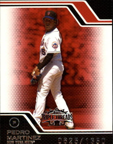 Photo of 2008 Topps Triple Threads #76 Pedro Martinez