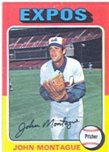 Photo of 1975 Topps #405 John Montague RC