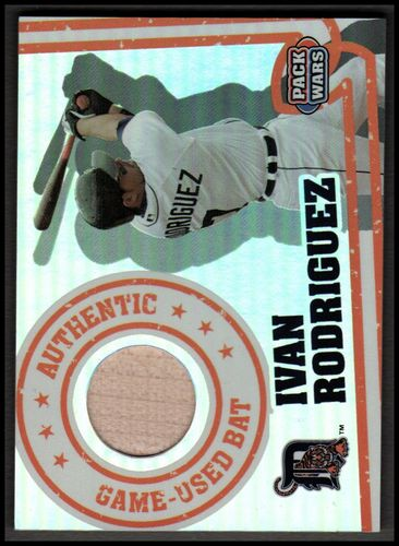 Photo of 2005 Topps Pack Wars Relics #IR Ivan Rodriguez Bat A
