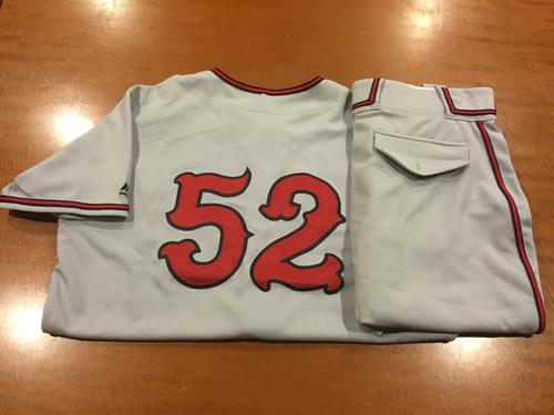 Photo of Tony Cingrani Game-Used Cincinnati Tigers Uniform