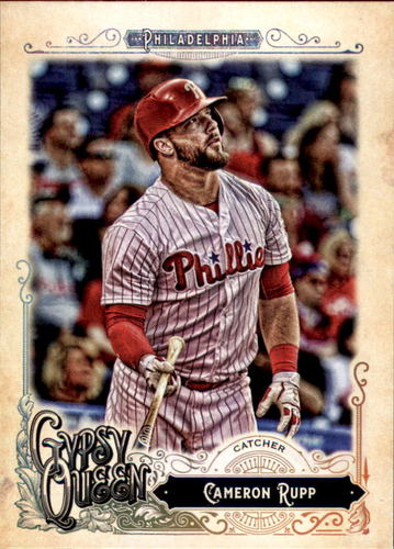 Photo of 2017 Topps Gypsy Queen #72 Cameron Rupp