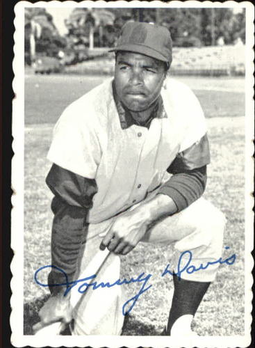 Photo of 1969 Topps Deckle Edge #15 Tommy Davis
