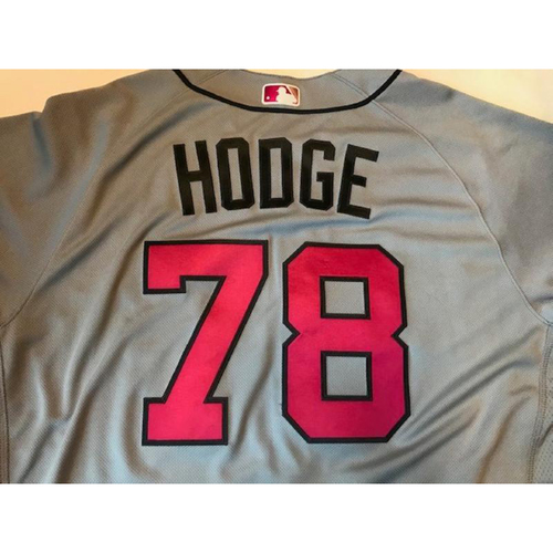 Photo of Team-Issued Mother's Day Jersey: Ed Hodge