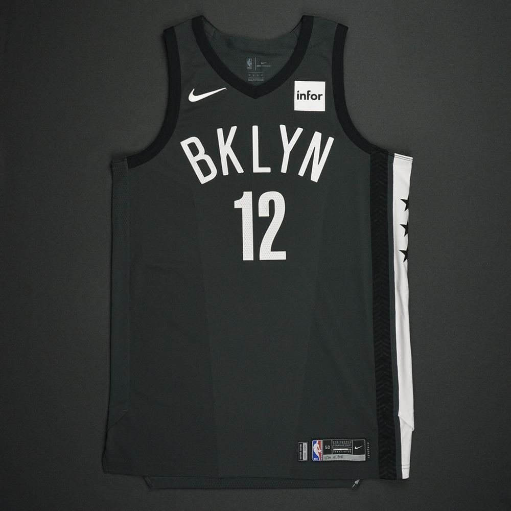 Joe Harris - Brooklyn Nets - Statement Game-Worn Jersey - 2017-18 Season