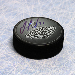 Jeff Carter Los Angeles Kings Autographed 2012 Stanley Cup Puck