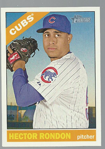 Photo of 2015 Topps Heritage #274 Hector Rondon