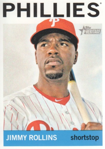 Photo of 2013 Topps Heritage #237 Jimmy Rollins