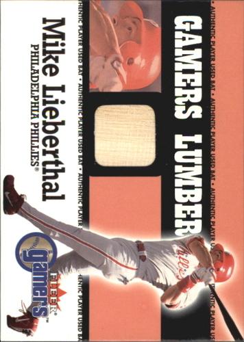 Photo of 2000 Fleer Gamers Lumber #30 Mike Lieberthal