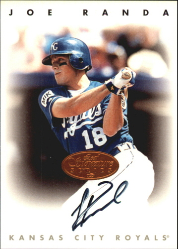Photo of 1996 Leaf Signature Autographs #190 Joe Randa