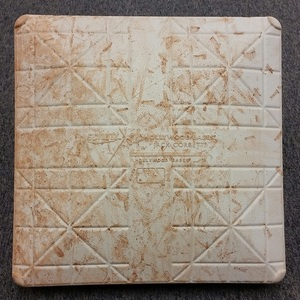 Authenticated Game-Used 1st Base from May 7, 2016 Game vs L.A. Dogers - used for innings 1-3