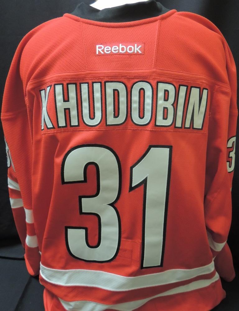 Anton Khudobin #31 Game Worn Jersey