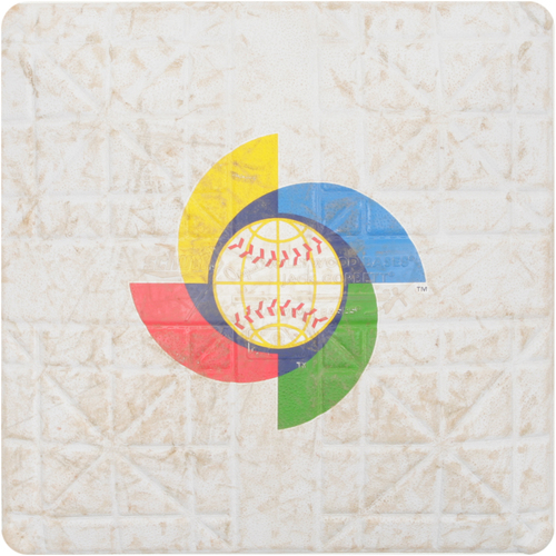 Photo of 2013 WBC: Round 2 - Netherlands vs. Japan Game-Used 3rd Base