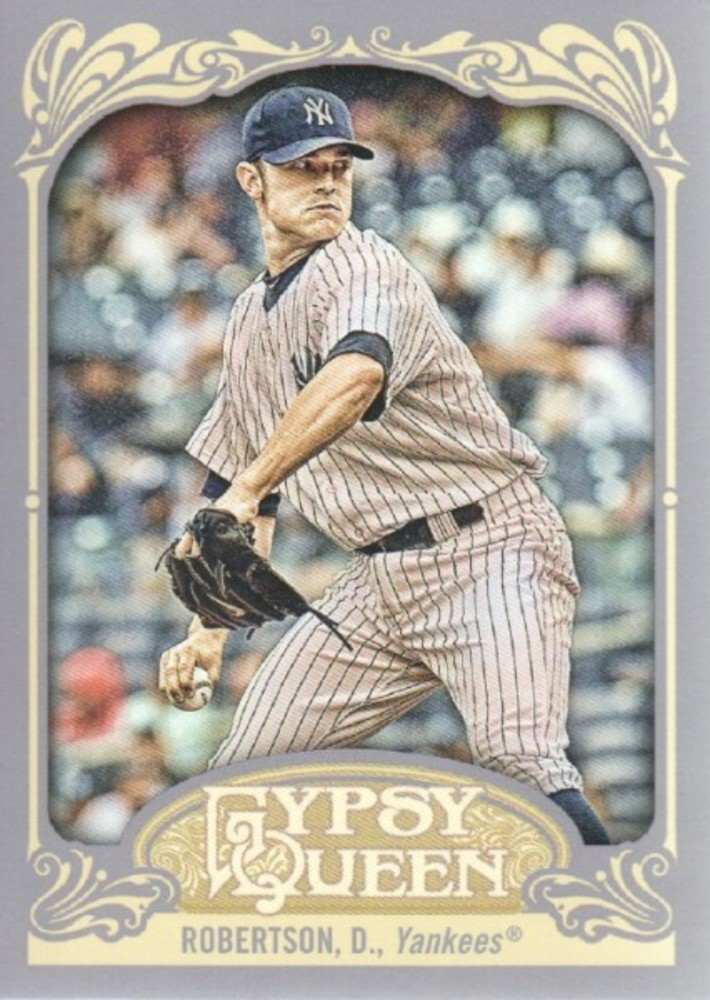 2012 Topps Gypsy Queen #125 David  -- Yankees post-season