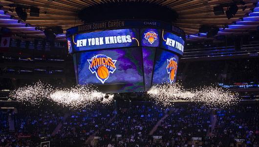 NEW YORK KNICKS BASKETBALL GAME: 1/10 KNICKS VS. NEW ORLEANS (2 SECTION 106 TICKET...