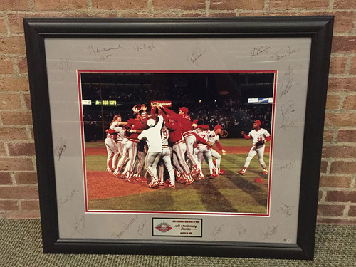 Photo of 1990 Reds 25th Anniversary Autographed Commemorative