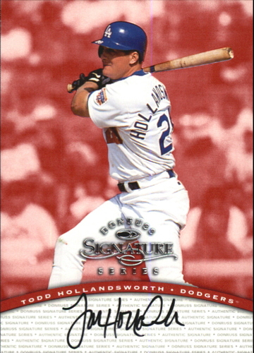 Photo of 1997 Donruss Signature Autographs #51 Todd Hollandsworth/2900