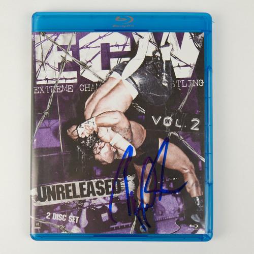 Paul Heyman SIGNED copy of ECW: Unreleased Vol. 2 Blu-ray
