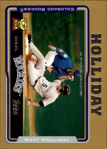 Photo of 2005 Topps Gold #136 Matt Holliday