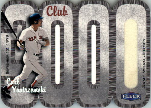 Photo of 2000 Fleer Club 3000 Memorabilia #CY3 C.Yaz Jersey/440