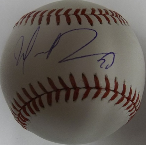 Photo of Wilin Rosario Autographed Baseball