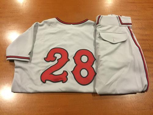 Photo of Anthony DeSclafani Game-Used Cincinnati Tigers Uniform