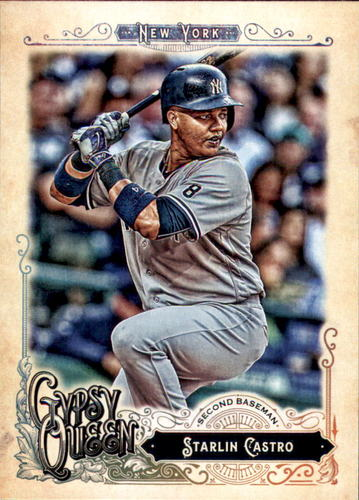 Photo of 2017 Topps Gypsy Queen #54 Starlin Castro
