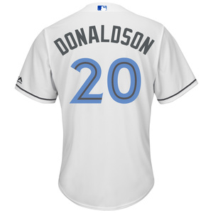 2017 Cool Base Josh Donaldson Replica Father's Day Jersey by Majestic