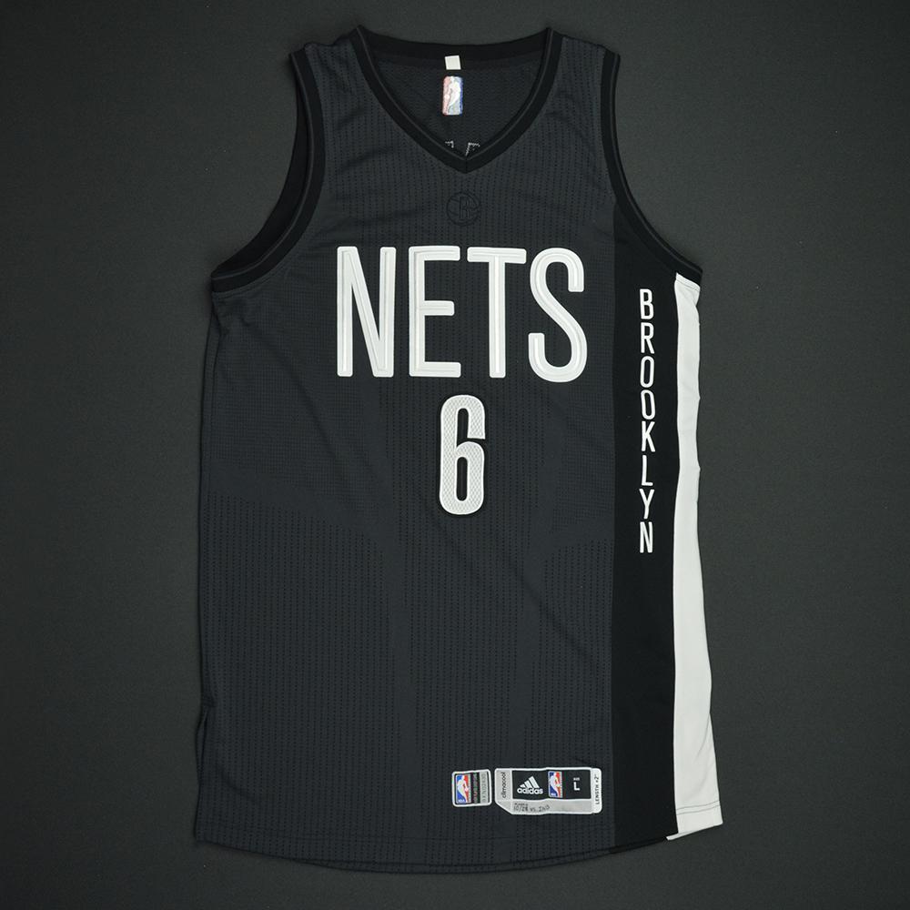 Sean Kilpatrick - Brooklyn Nets - Game-Worn Black Alternate Jersey - 2016-17 Season