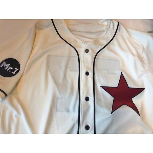 Photo of Team-Issued Detroit Stars Jersey: Joe Jimenez