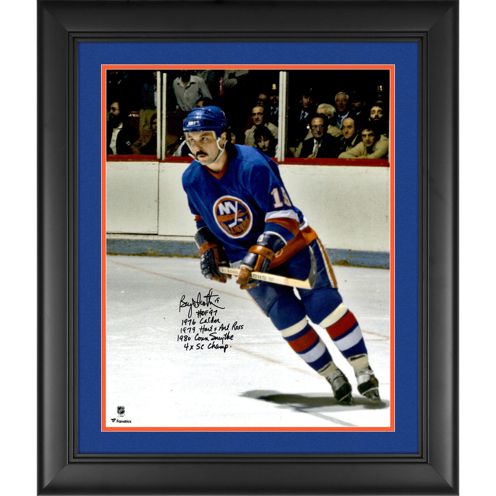 Bryan Trottier New York Islanders Framed Autographed 16