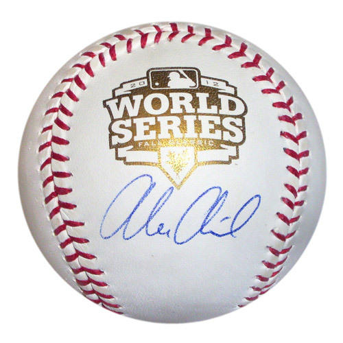 Photo of Detroit Tigers Alex Avila  Autographed World Series Baseball