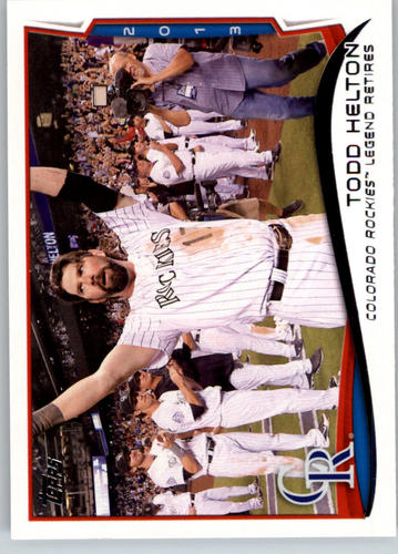 Photo of 2014 Topps #253 Todd Helton HL