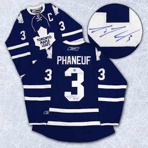 Dion Phaneuf Toronto Maple Leafs Autographed Reebok Premier Jersey