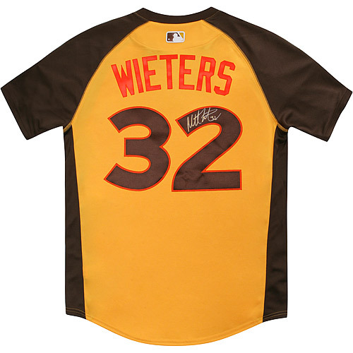 Photo of Matt Wieters 2016 Major League Baseball Workout Day/Home Run Derby Autographed Jersey