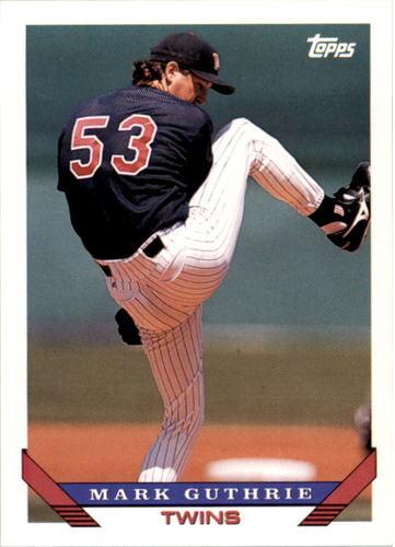Photo of 1993 Topps #777 Mark Guthrie