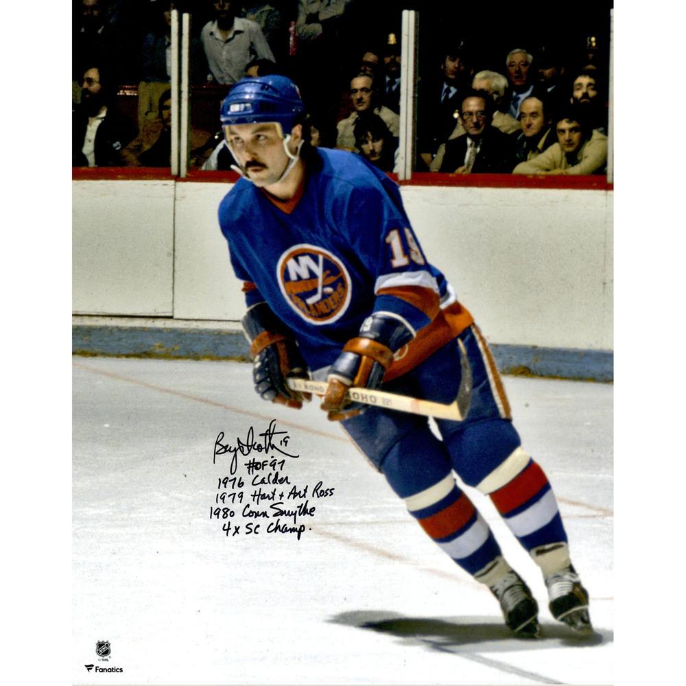Bryan Trottier New York Islanders Autographed 16