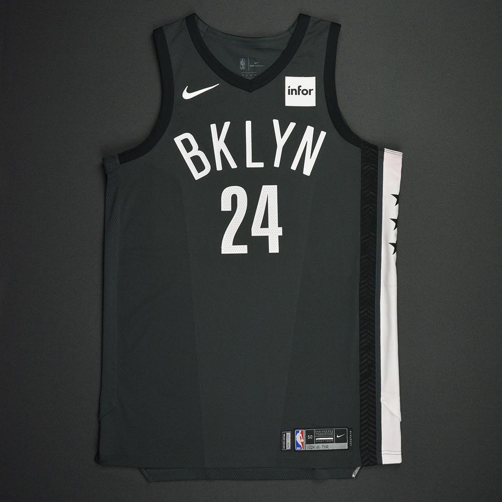 Rondae Hollis-Jefferson - Brooklyn Nets - Statement Game-Worn Jersey - 2017-18 Season