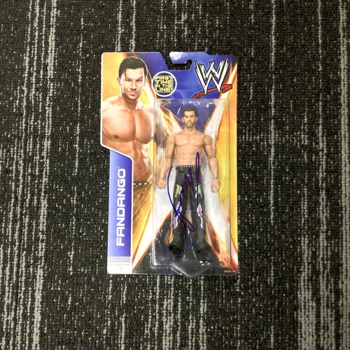 SIGNED Fandango Superstar #11 Action Figure