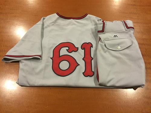 Photo of Raffy Lopez Game-Used Cincinnati Tigers Uniform