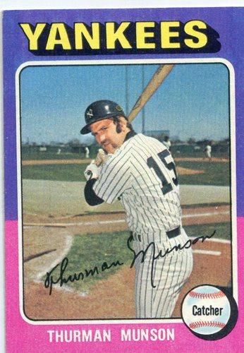 Photo of 1975 Topps #20 Thurman Munson