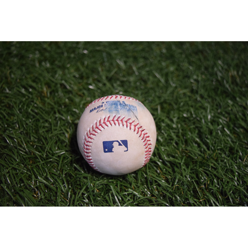 Photo of Game-Used Baseball: Chris Archer strikes out Roberto Perez - 8/12/17 TBTC Night v CLE