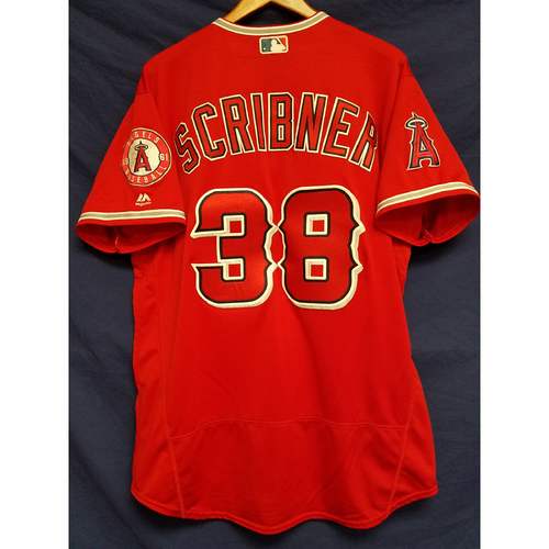 Troy Scribner Team-Issued Alternate Red Jersey
