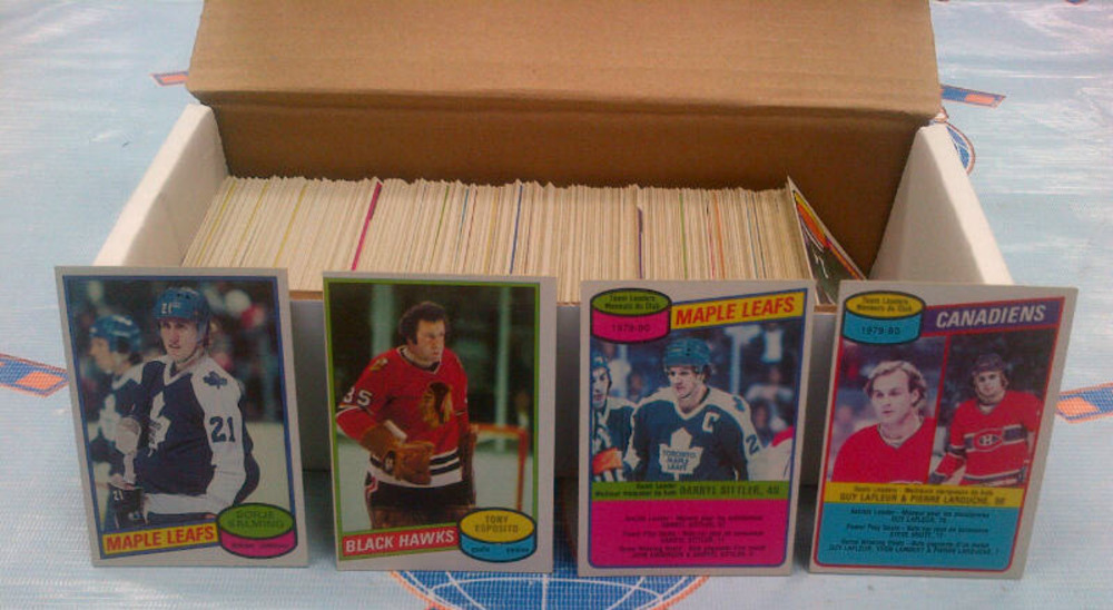 1980-81 OPC Partial Starter Set *OVER 350 NEAR MINT HOCKEY CARDS* *SALMING, LAFLEUR, PARK, SITTLER, T.ESPOSITO ETC*