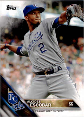 Photo of 2016 Topps #287 Alcides Escobar