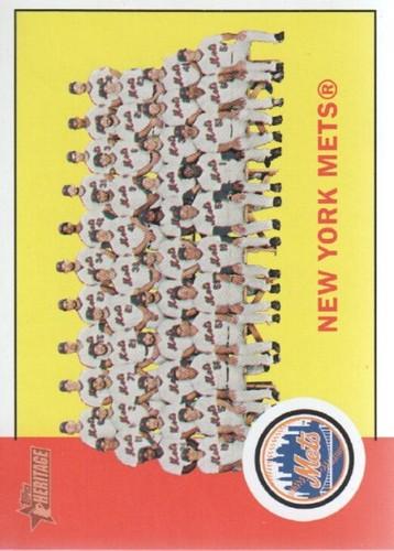 Photo of 2012 Topps Heritage #112 New York Mets TC