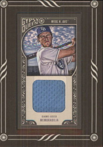 Photo of 2015 Topps Gypsy Queen Framed Mini Relics #GMRWM Wil Myers