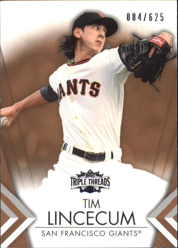 Photo of 2012 Topps Triple Threads Sepia #26 Tim Lincecum