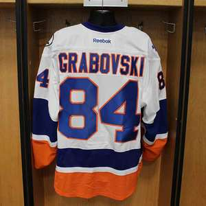 Mikhail Grabovski - Game Worn Away Jersey - 2015-16 Season - New York Islanders
