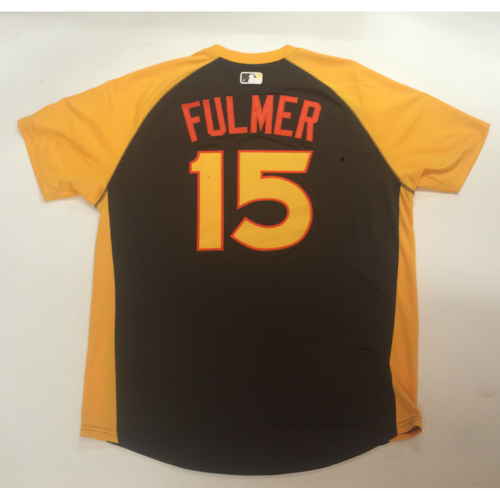 Photo of 2016 All-Star Futures Game Auction - Carson Fulmer #15 USA Batting Practice Worn Jersey